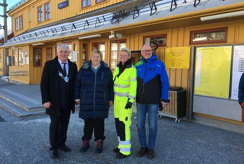 Økt trygghet for passasjerer og gående på Gol og Geilo stasjon