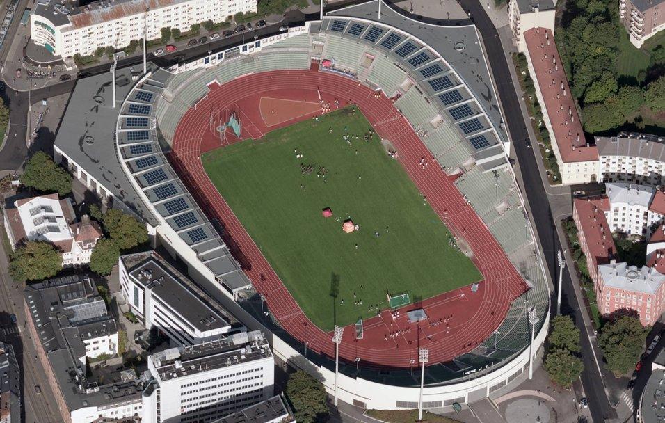 Bislett stadion får solcelleanlegg