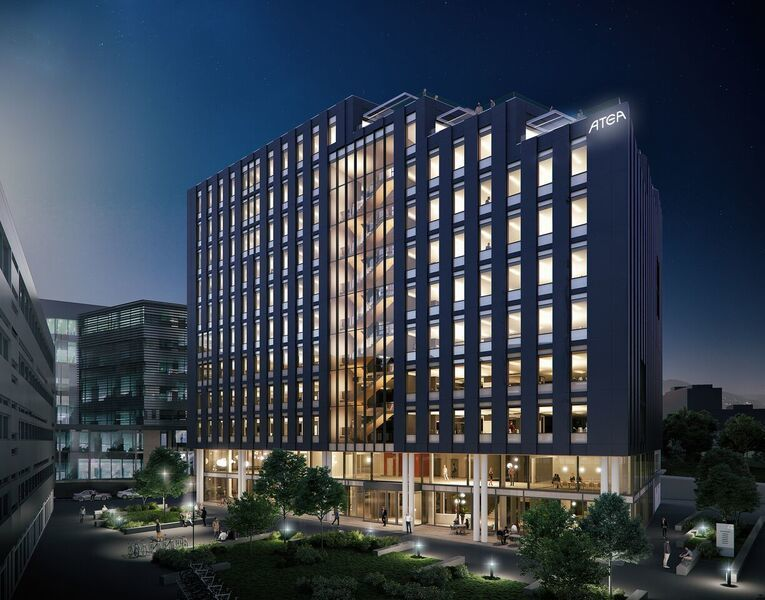 Har ambisjoner om at deres hovedkontor blir «verdens smarteste bygg»