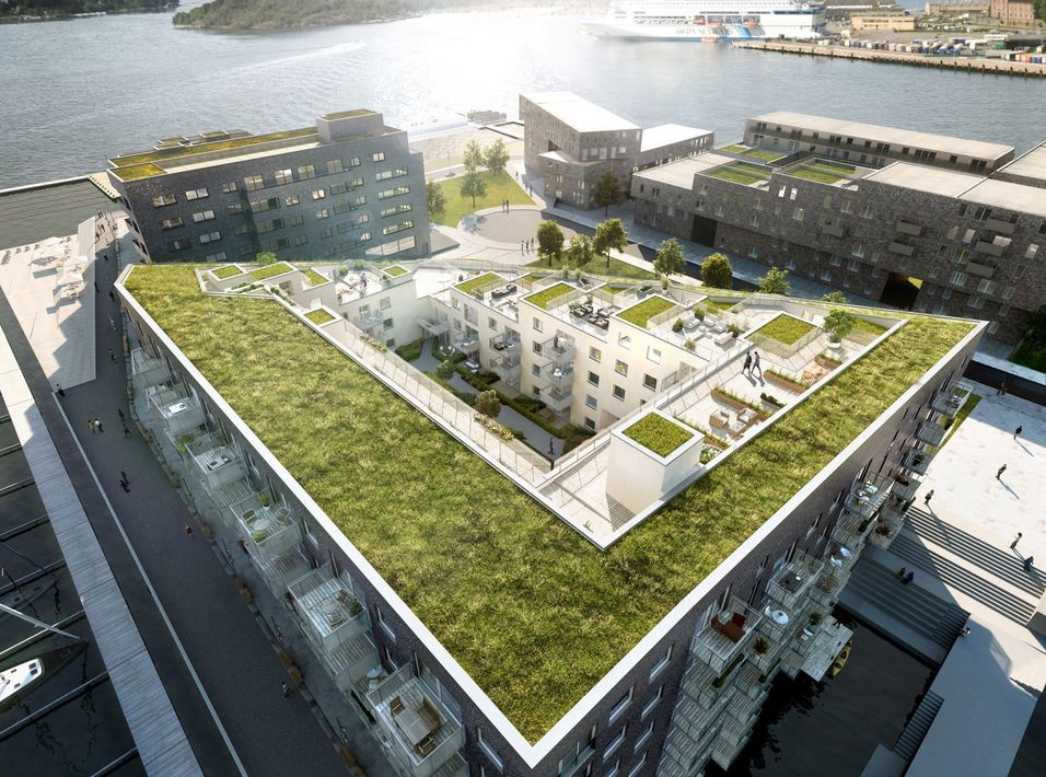 Øke livskvaliteten til mennesker, dyr og plantebestanden med grønt byggeri
