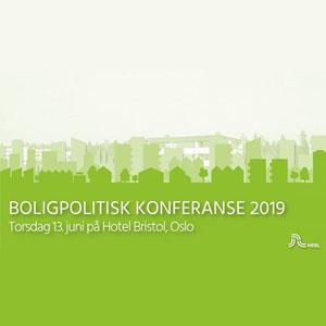 Boligpolitisk konferanse 2019 Logo
