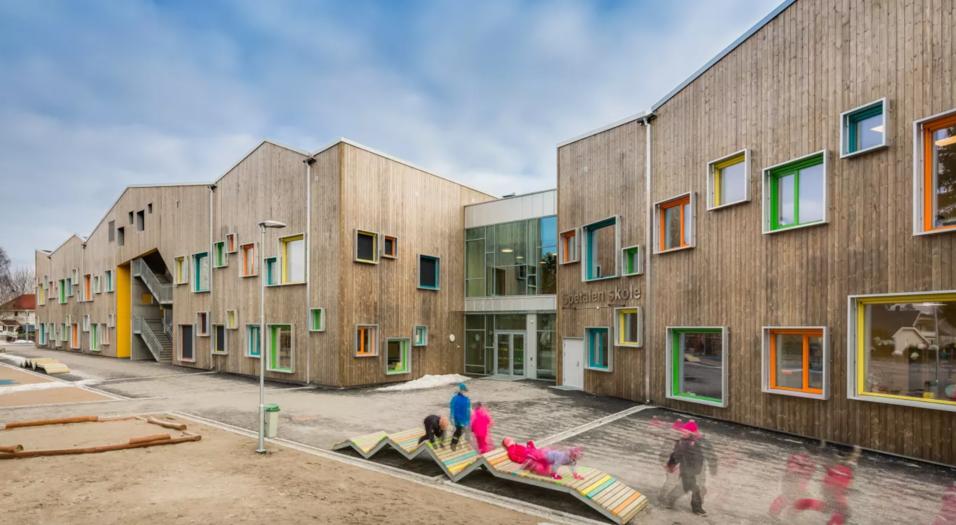 Står bak nye Spetalen skole som er kåret til vinner av årets skolebygg 2018