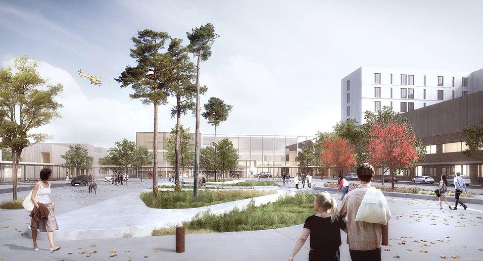 Prosjekterer nye Drammen sykehus