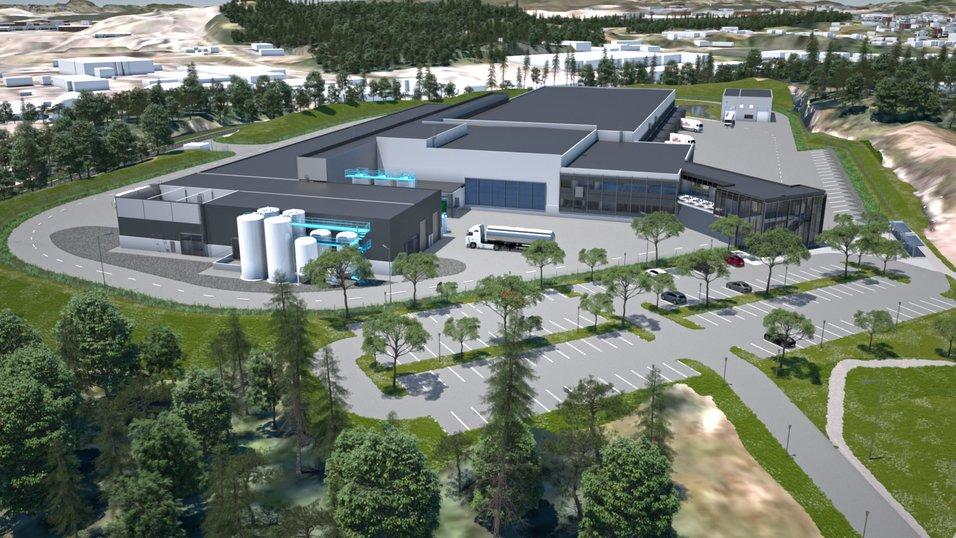6,4 millioner for å bygge framtidens klimavennlige produksjonsanlegg