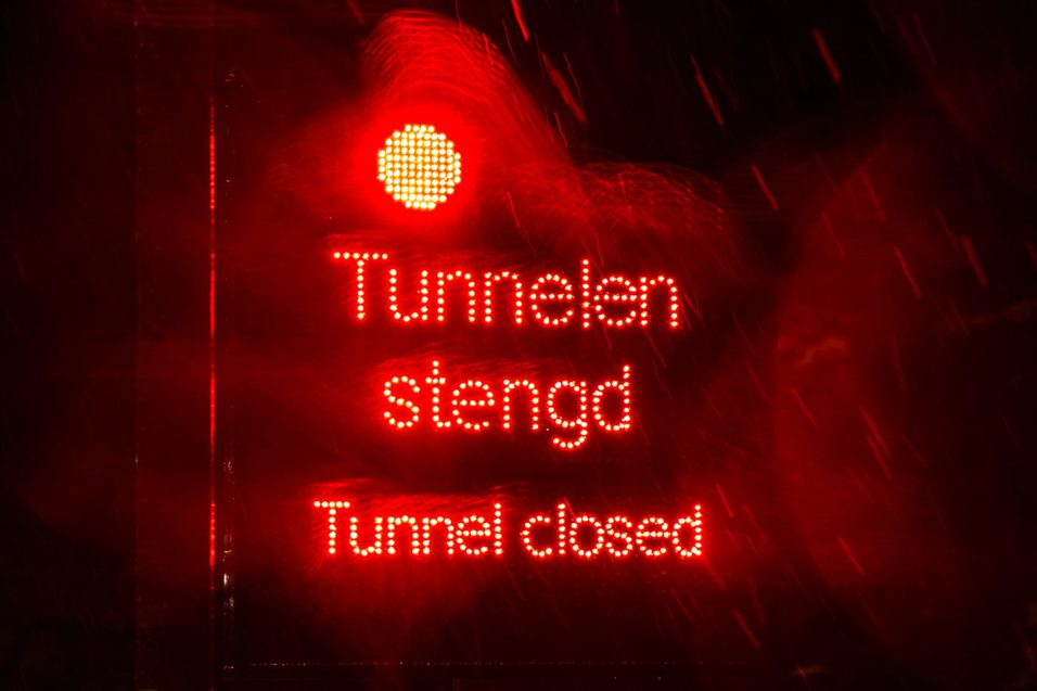 Hvorfor stenges nye tunneler?