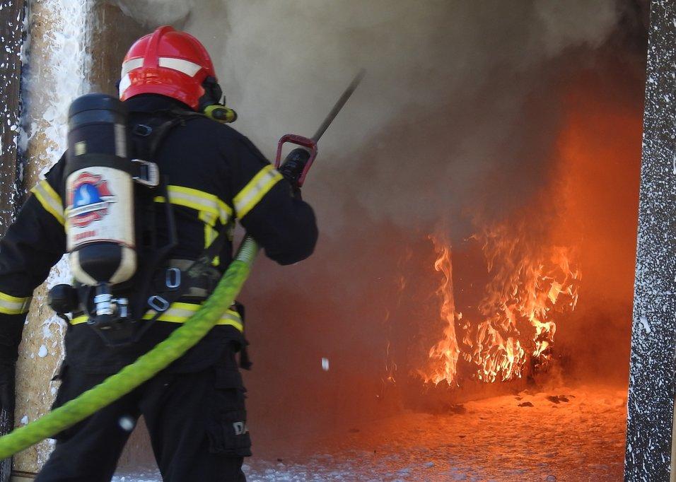 Nytt forskningssenter skal styrke brannsikkerheten