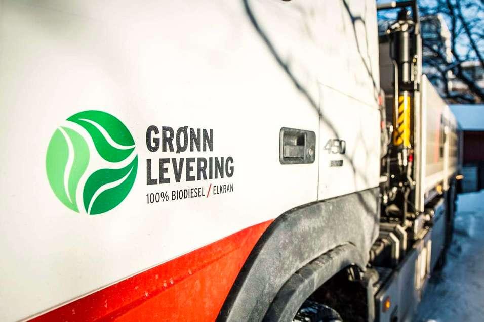 Miljø i fokus: Grønn levering