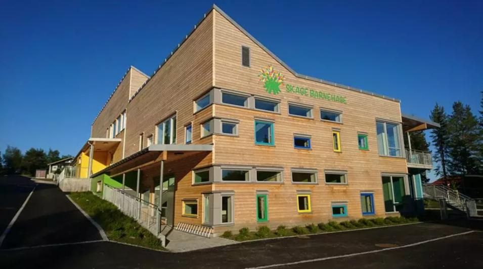 Landets mest miljøeffektive barnehagen?