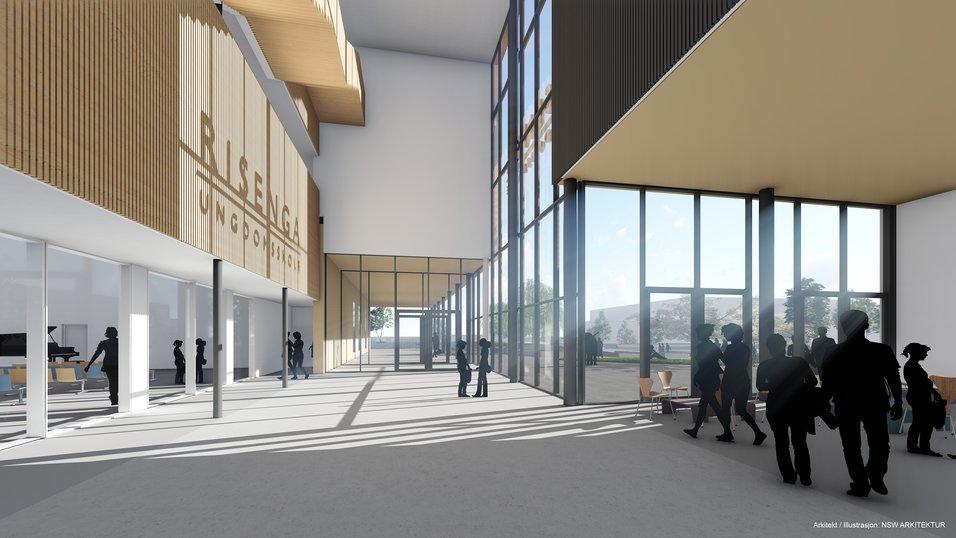Nytt skoleprosjekt til NCC Building i Asker