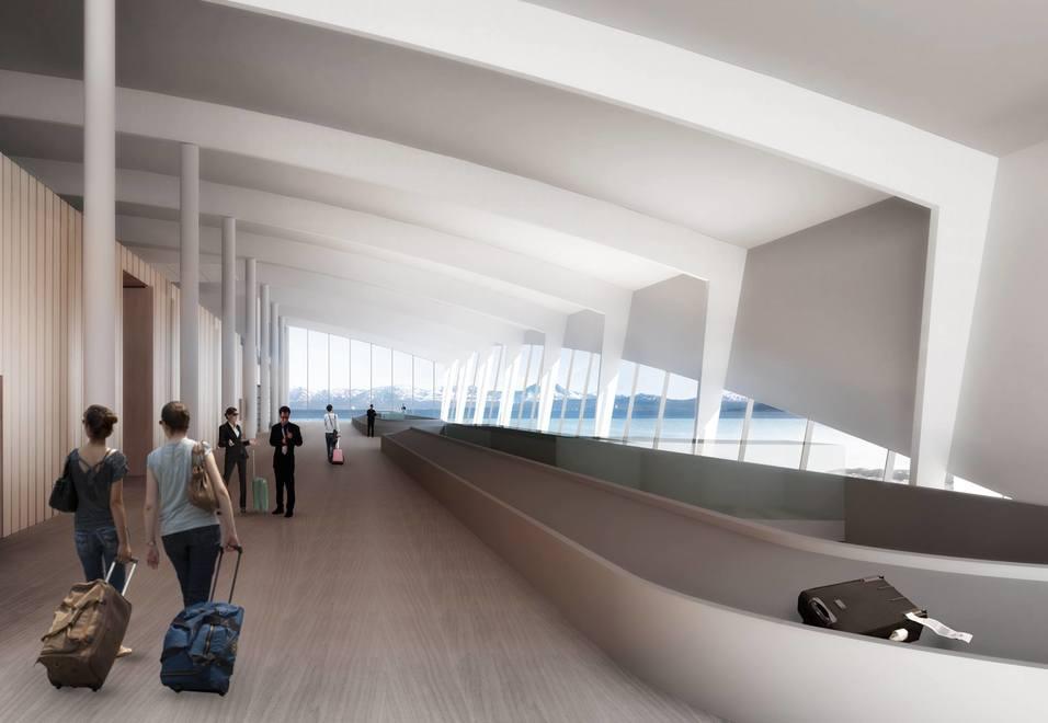 Flyplassen i Tromsø for liten for trafikken