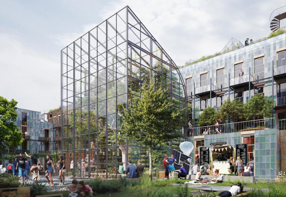 Konkurrerer om å bygge fremtidens bygg
