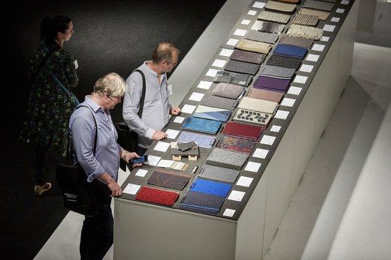 Et fokusområde for denne versjonen av messen er en utstilling over fornybare, dyrkede materialer.