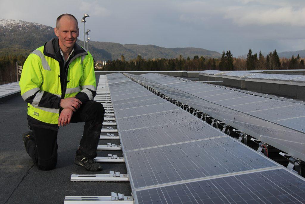 Større stas med solenergi