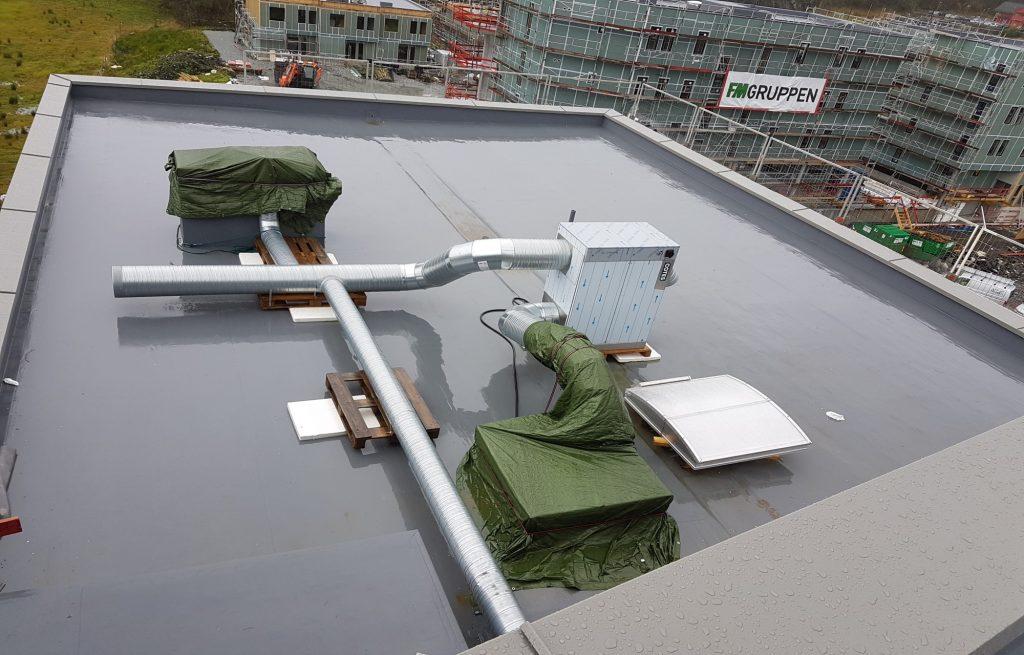 Utvikler metode for utslippsfri byggtørking