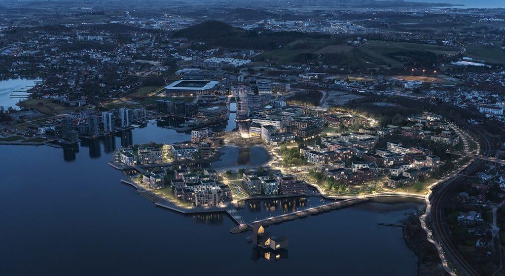 Skal videreutvikle Jåttåvågen til Nordens mest attraktive bydel