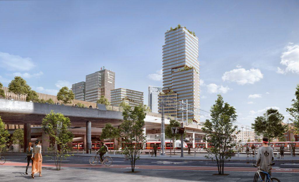 205 forslag til toppetasje på Oslo-bygning