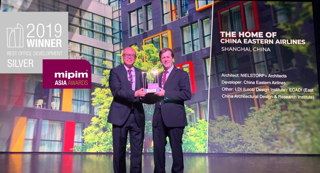 NIELSTORP+ Arkitekter sølvvinner i MIPIM Asia Awards 2019