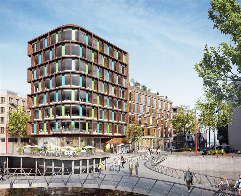 Bygger kontorer i Helsingborg for Castellum
