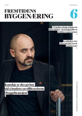 Fremtidens Byggenæring 6 utgave 2019 Image