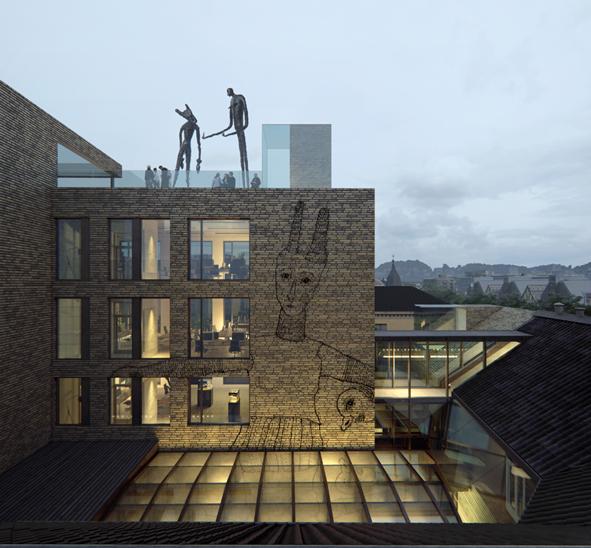 Bygger unikt kunstsenter i Trondheim