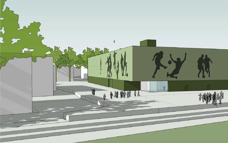 Snart byggestart for ny fotballhall i Drammen