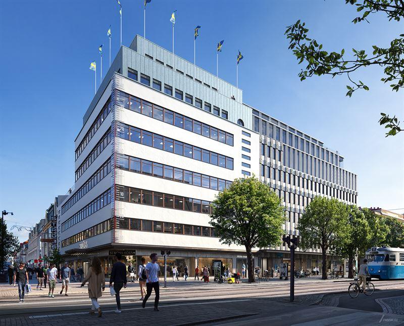 Bygger om Strömshuset i Göteborg for Vasakronan