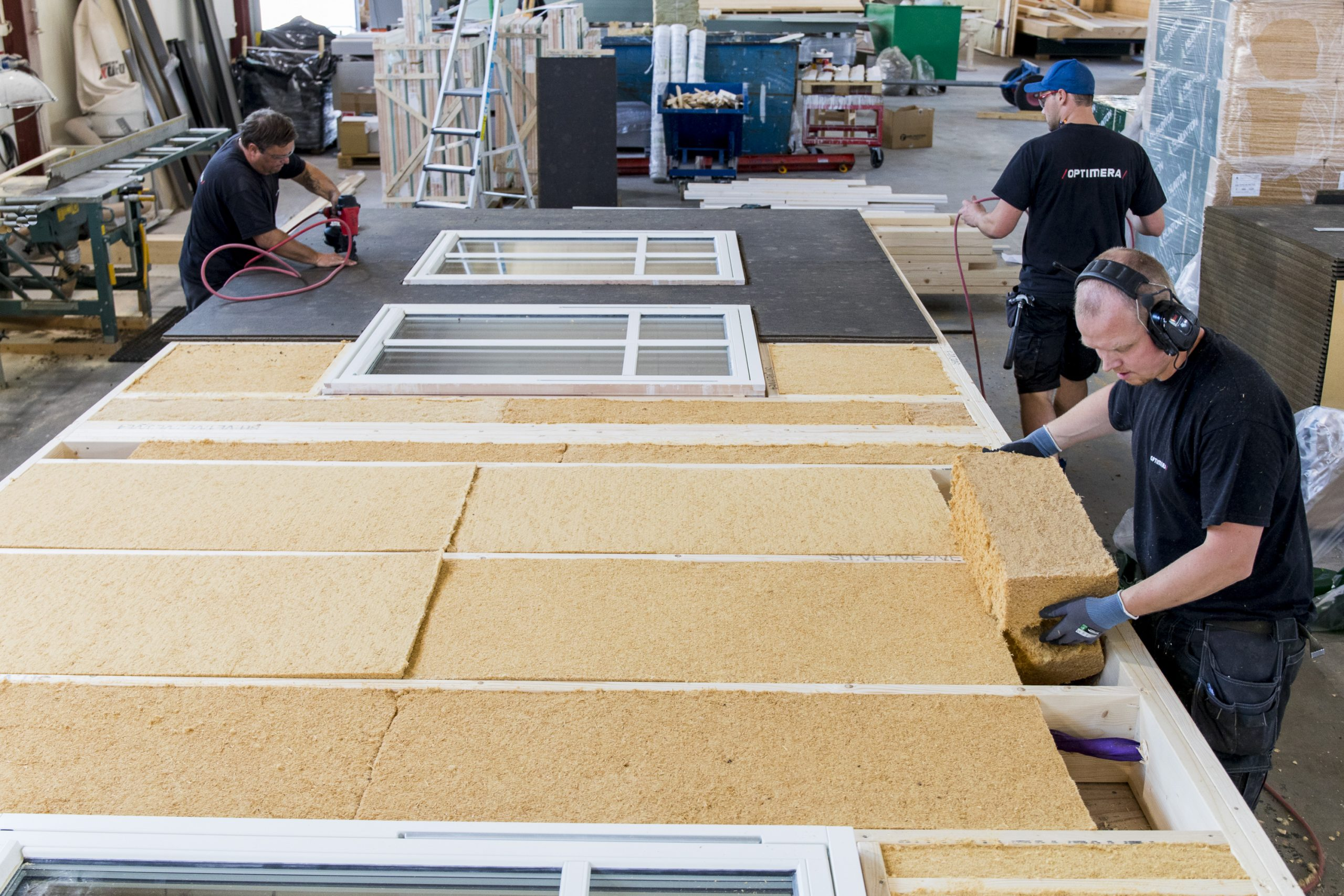 Produserer «grønne elementer» for en mer bærekraftig byggenæring