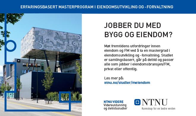 NTNU - Forsideboks Banner