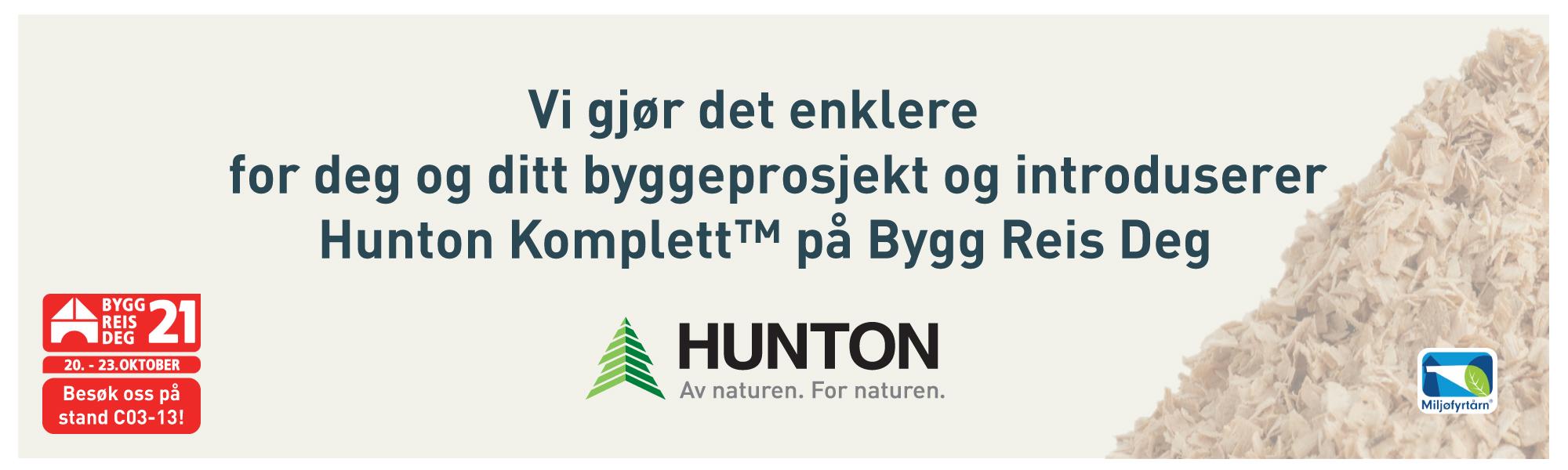 Hunton Banner